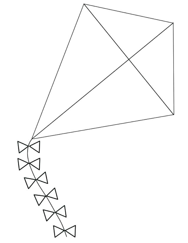 Printable Kite Template