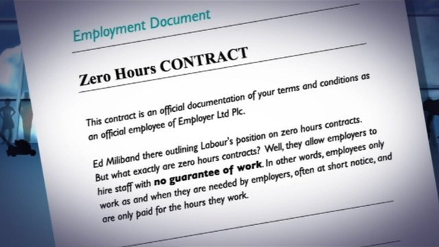 What Does Zero Hours Contract Mean