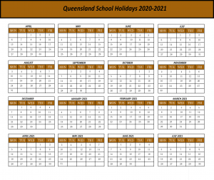 QLD School Holiday 2020