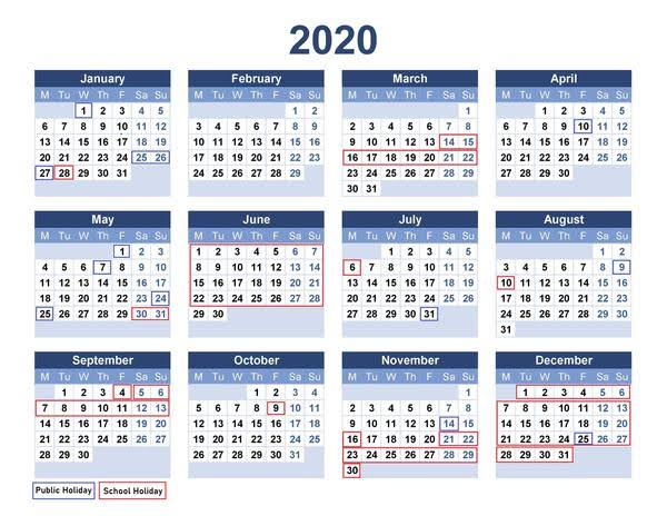 China Public Holidays 2020
